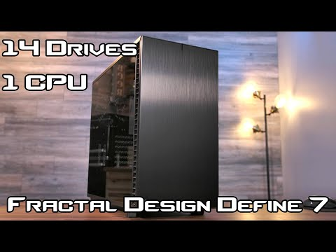 Fractal Define 7 Review - The ultimate home server chassis? from YouTube · Duration:  11 minutes 15 seconds