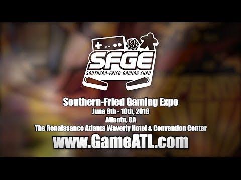 Southern-Fried Gaming Expo 2018 - June 8-10 (ATLANTA , GA)