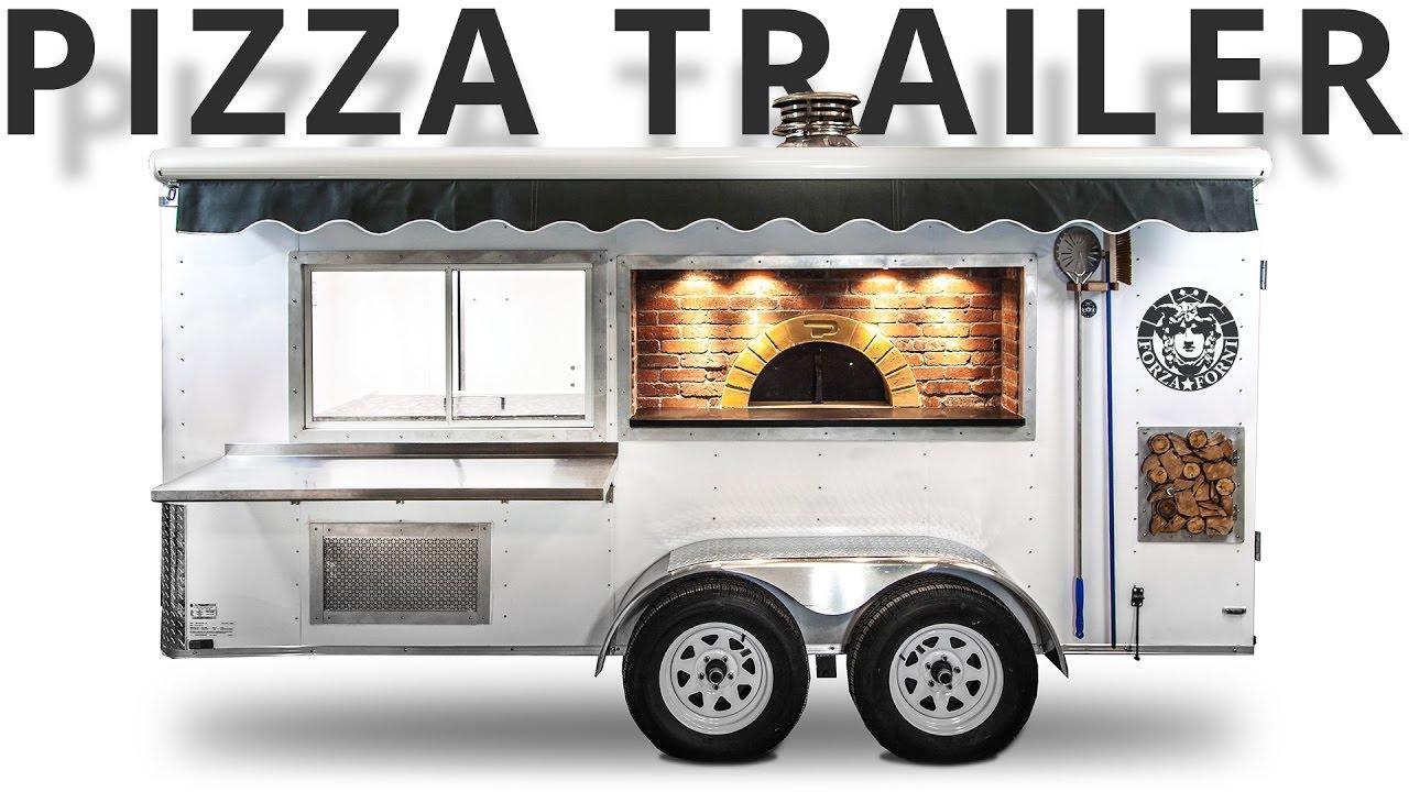 Pizza Trailer Mobile Concession Kitchen Youtube