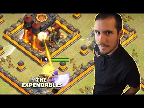 THE EXPENDABLES - #AnikiloEnTuClan #45 - GUERRA DE CLANES CLASH OF CLANS