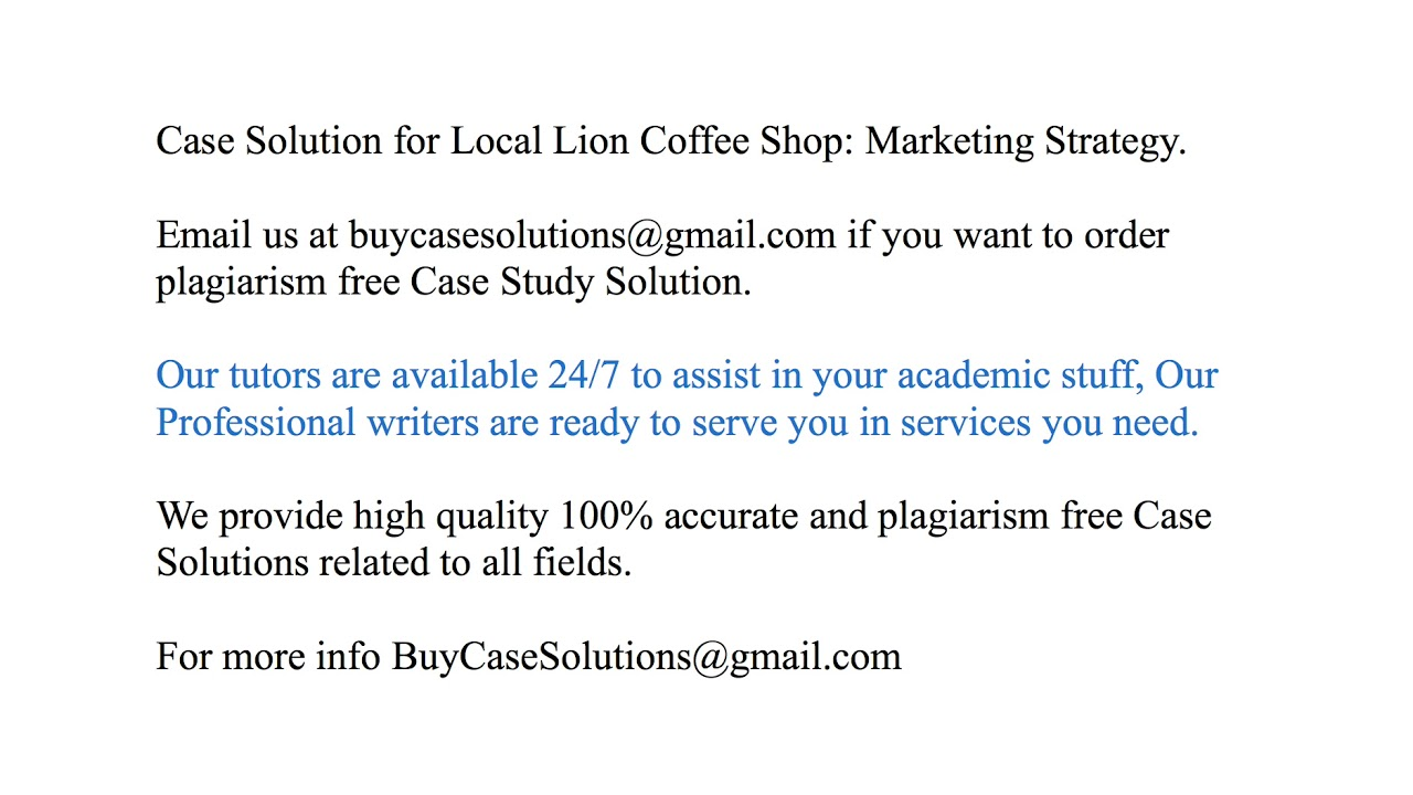 store 24 case study solution
