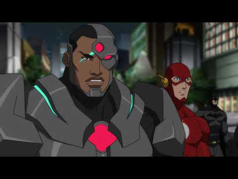 Justice League meets Cyborg and Shazam!