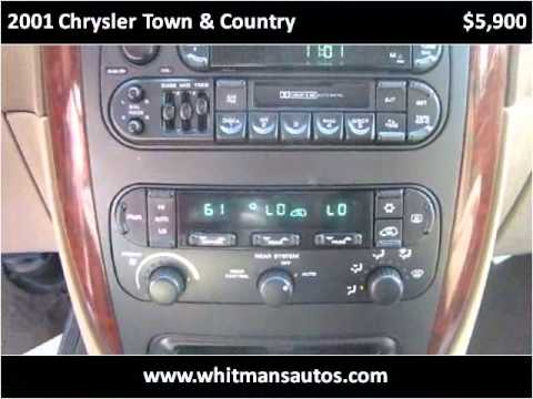 2001 Chrysler Town & Country Used Cars Elkhart IN