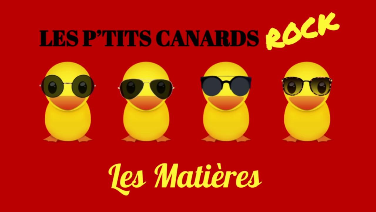 [CREASON] - Les Matières - Les p'tits canards rocks [Collège N. Boileau]