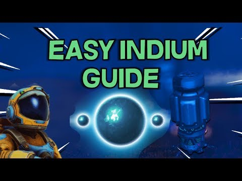 How To Setup An Indium Mine Quick Guide -- A Guide To Getting Millions -- No Man's Sky Beyond