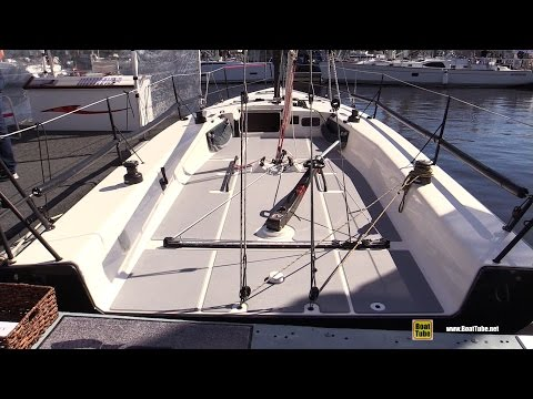 2016 C&C 30 One Design Sailing Boat - Walkaround - 2016 Annapolis Sail Boat Show
