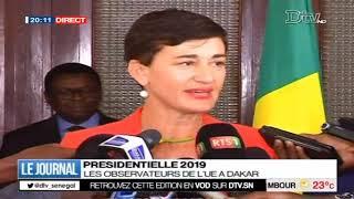 JT Français 20h  du lundi 14 janv. 2019