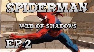 "Spiderman Web Of Shadows #2 ""Cage.."""