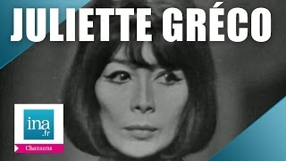 """Juliette Gréco """"Le petit bal perdu"""" (live officiel) - Archive INA"""