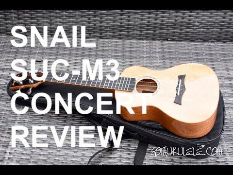 Got A Ukulele Reviews - Snail SUC-M3 Concert