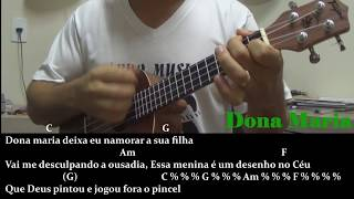 Baixar Dona Maria - Thiago Brava ft Jorge - Tutorial ukulele