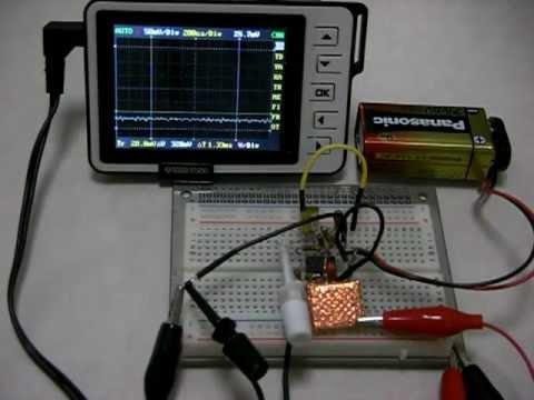 PIN photo-diode radiation detecting circuit (part1)