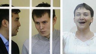 """الأزمة الأوكرانية: محاكمة """"جنديين روسيين"""" في محكمة الإرهاب بكييف"""