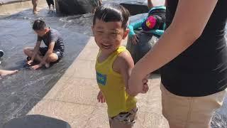[임서현] 일산호수공원에서 물놀이