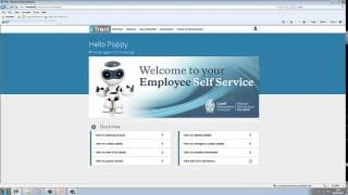 Welcome to our itrent employee self service online tutorial