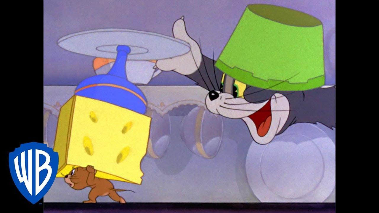 Tom et Jerry en Français | Voler ce fromage tard dans La nuit | WB Kids