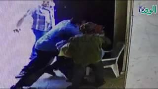 ننشر أول فيديو لحادث كنيسة القديسين