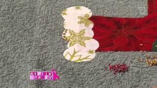 Valéria Souza ensina patch apliquê em vários tipos de tecidos