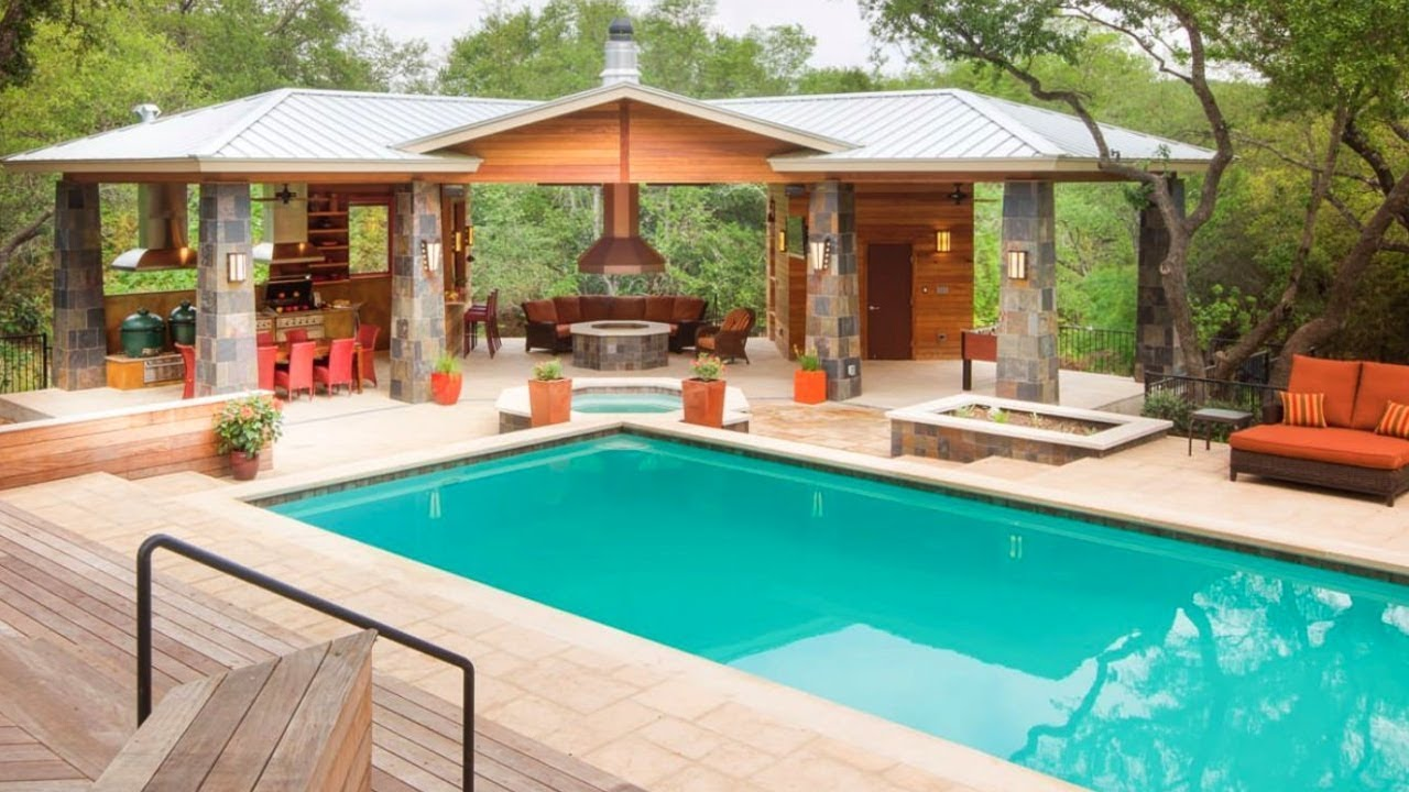 20 Swimming Pool And Pool House Design Ideas Part 7 Youtube