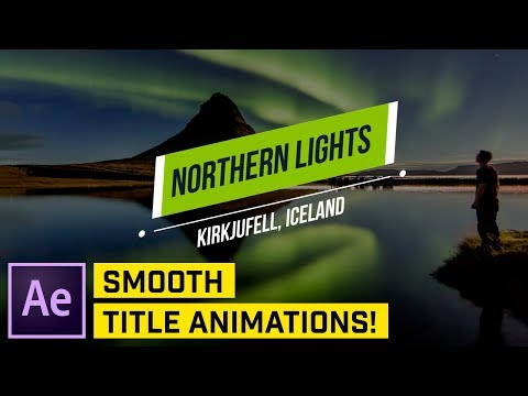 How to Make Clean Titles in After Effects