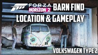 Forza Horizon 2 - Volkswagen Type 2 De Luxe - Location & Gameplay (Barn Find)
