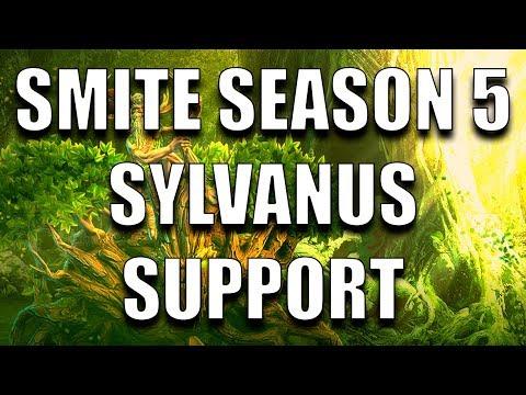 SMITE SEASON 5 PTS: I CANNOT ULT?? (Sylvanus Support)
