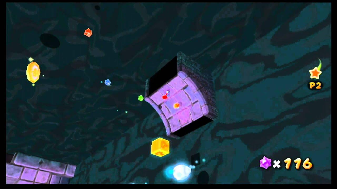 Super Mario Galaxy 2 - Boo Moon Galaxy - Silver Stars Pop ...