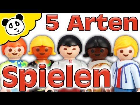 Playmobil Familie - 5 Arten zu Spielen - Playmobil Film