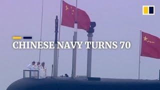 China's navy celebrates 70th anniversary
