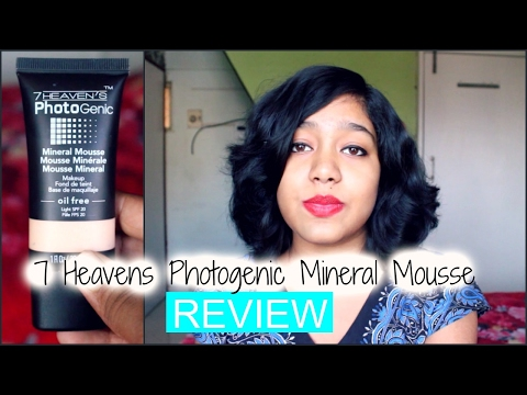 7 Heaven's Photogenic Mineral Mousse Foundation Review