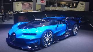 homepage tile video photo for Bugatti Vision Gran Turismo Concept