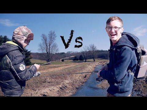 Creek Fishing Battle!/The Fish Off