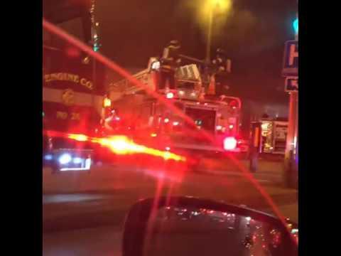 Milwaukee Blazes, crazy scenes WI Milwaukee chaos #BREAKING