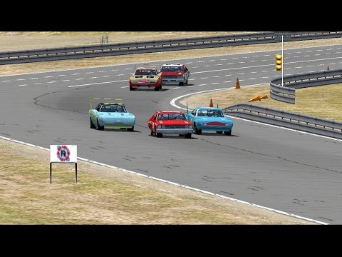 CRAZY FINISH!! NR2003: Riverside 5% Full Race '70s SS Mod Gameplay. EP 07