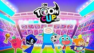 TOON CUP 2019 - GUMBALL, FINN AND CYBORG PLAY SOCCER (TOURNAMENT) - CARTOON NETWORK GAMES