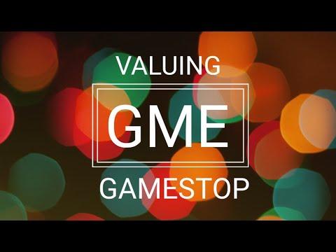 GameStop (GME) - DCF Valuation December 2017
