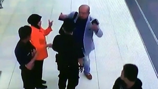 Video allegedly from CCTV's at the Kuala Lumpur Airport shows the last moment of Kim Jong-nam