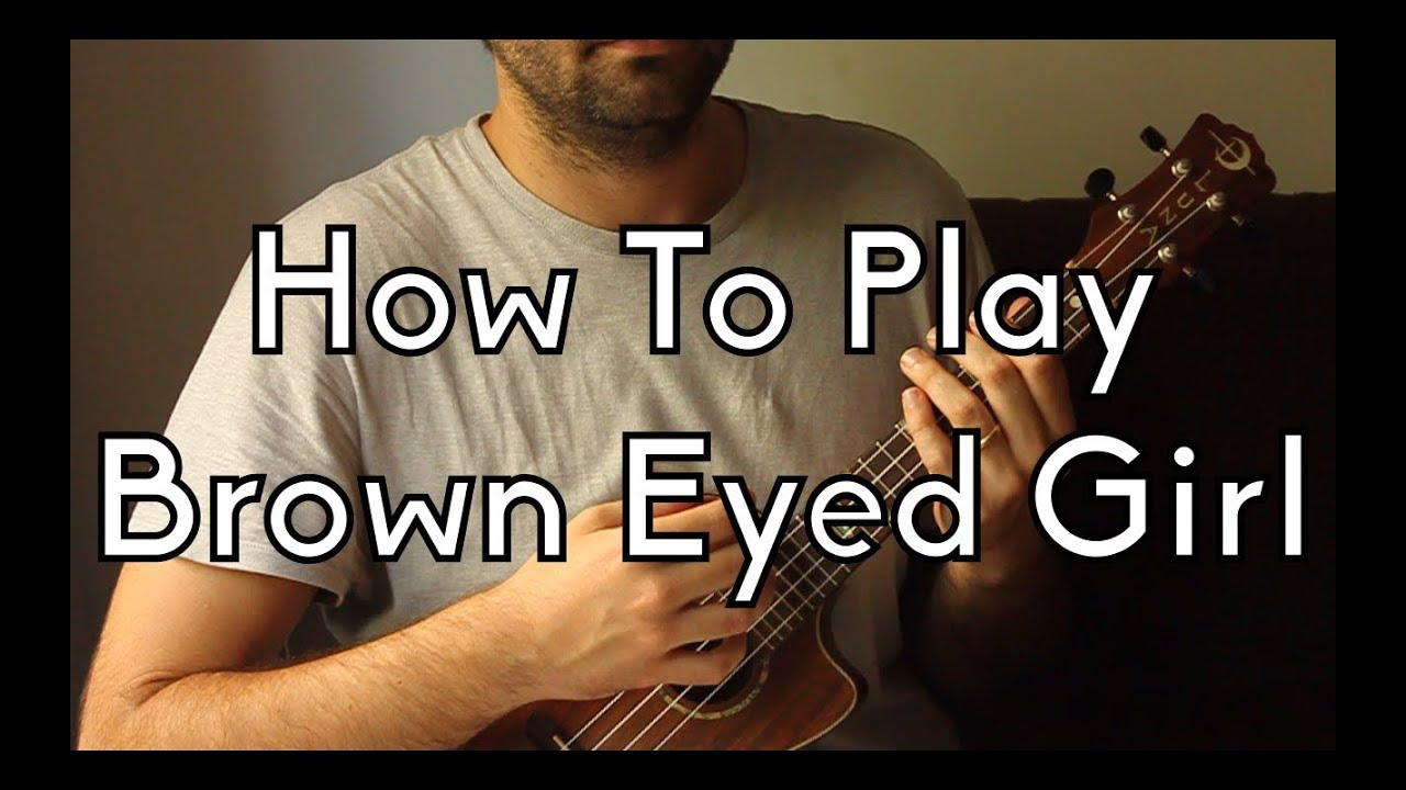 how to play brown eyed girl on acoustic guitar