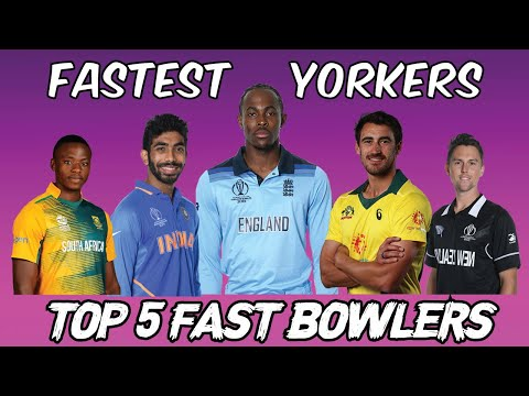 Top 5 Fast Bowlers of Recent Times | Deadliest Yorkers | Toe Crushing Yorkers | Fastest Yorkers