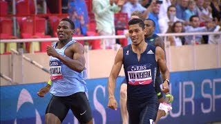 Van Niekerk vs Makwala 400m - Monaco Diamond League 2017 [1080p]