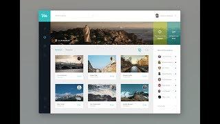 Designing Dashboard UI Using JavaFx | Netbeans GUI Design