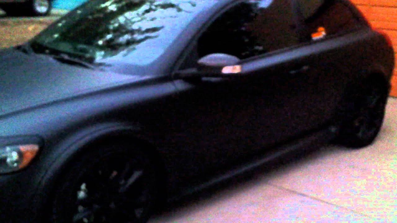 Matte Black Volvo Xc90 >> Matte black volvo - YouTube