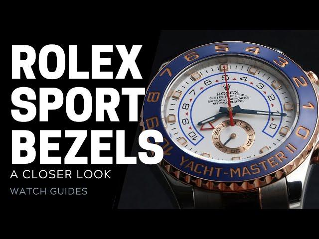 Rolex Bezels - Aluminum vs Cerachrom vs Steel | SwissWatchExpo