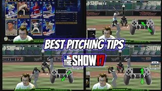 Best Pitching Tips MLB The Show 17 Pitching Tutorial