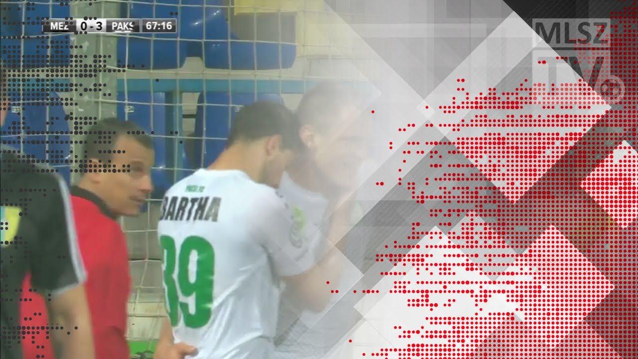 Bartha László gólja a Mezőkövesd Zsóry FC - Paksi FC mérkőzésen