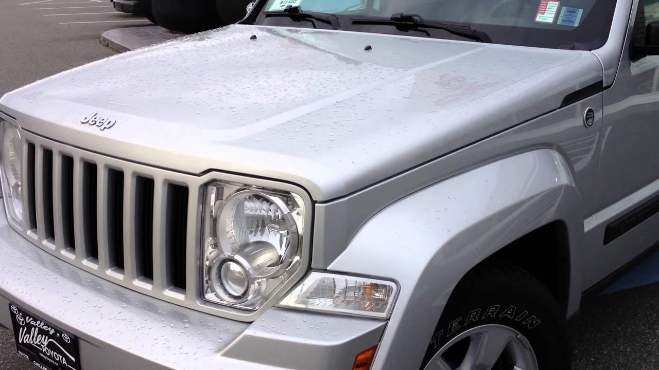 (SOLD) 2009 Silver Jeep Liberty Review, For Sale At Valley Toyota Scion In  Chilliwack BC #14023B