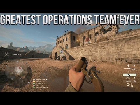 The Greatest Operations Team EVER! - PS4 Battlefield 1 Road to Max Rank Ep. 91! (BF1 Operations)