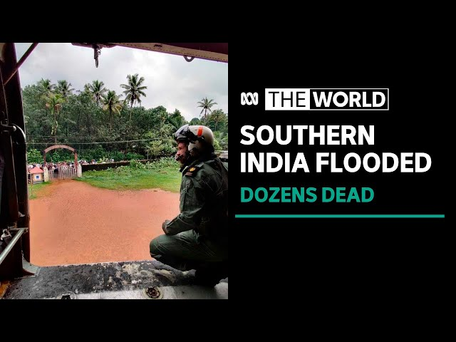 Torrential downpour kills dozens in southern India   The World