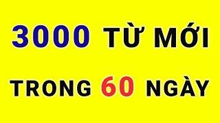 Thuộc lòng 3000 TỪ VỰNG trong 60 ngày