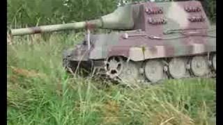 16 RC Jagdtiger and Tiger 1 tanks on Combat Patrol